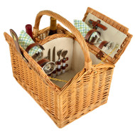Vineyard Picnic Basket for Two - Gazebo image 1