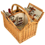 Vineyard Picnic Basket for Two - London image 1