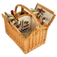 Vineyard Picnic Basket for Two - Santa Cruz image 1