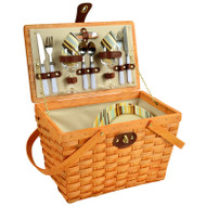 Frisco Picnic Basket For Two - Santa Cruz image 1