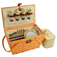 Settler Picnic Basket for Four - Hamptons image 1