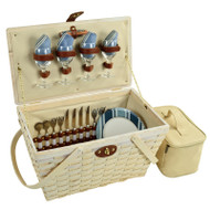 Settler Picnic Basket for Four - Aegean image 1