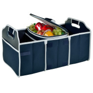 Trunk Organizer and Cooler Set - Navy image 1