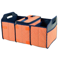 Trunk Organizer and Cooler Set - Diamond Orange image 1