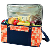Folding 72 Can Cooler - Diamond Orange image 1