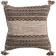 Surya Trenza Pillow - TZ002 - 22 x 22 x 5 - Polyester Insert