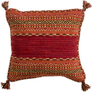 Surya Trenza Pillow - TZ003 - 18 x 18 x 4 - Poly