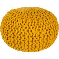 Surya Fargo Sphere Pouf - FGPF - Mustard