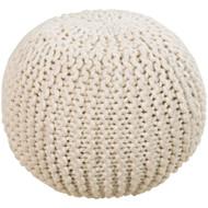 Surya Surya Poufs Sphere Pouf - POUF - Tan