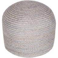 Surya Tropics Sphere Pouf - TPPF - Medium Gray