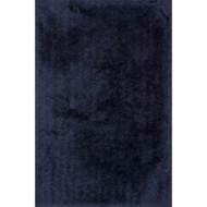"Loloi Allure Shag Rug  AQ-01 Aubergine - 3'-6"" x 5'-6"""