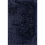"Loloi Allure Shag Rug  AQ-01 Aubergine - 5'-0"" x 7'-6"""