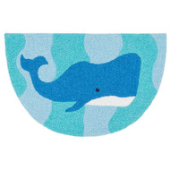 "Loloi Angelou Rug  HAN03 Ocean / Blue - 1'-9"" X 2'-9"" HEARTH"