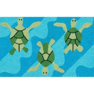 "Loloi Angelou Rug  HAN08 Ocean / Green - 1'-9"" x 2'-9"""
