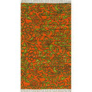 "Loloi Aria Rug  HAR14 Orange / Lime - 1'-8"" X 3'"