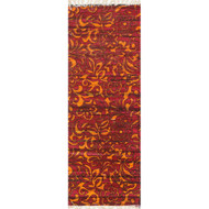 "Loloi Aria Rug  HAR14 Red / Orange - 1'-9"" X 5'"