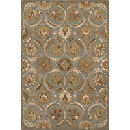 "Loloi Ashford Rug  HAS01 Teal / Multi - 5'-0"" x 7'-6"""
