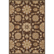 "Loloi Ashford Rug  HAS02 Brown / Multi - 7'-6"" x 9'-6"""