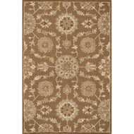 "Loloi Ashford Rug  HAS02 Light Brown / Multi - 3'-6"" x 5'-6"""