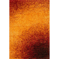 "Loloi Barcelona Shag Rug  BS-01 Sunset - 5'-2"" X 7'-7"""
