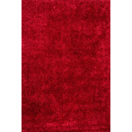 "Loloi Carrera Shag Rug  CG-01 Red - 3'-6"" x 5'-6"""