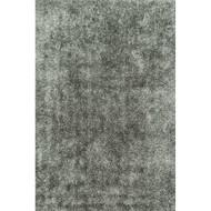 """Loloi Carrera Shag Rug  CG-01 Steel - 5'-0"""" x 7'-6"""""""