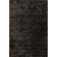 "Loloi Carrera Shag Rug  CG-02 Charcoal - 5'-0"" x 7'-6"""