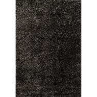 "Loloi Carrera Shag Rug  CG-02 Charcoal - 7'-9"" x 9'-9"""