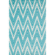 "Loloi Cassidy Rug  HCD08 Aqua - 5'-0"" x 7'-6"""