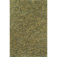"Loloi Cleo Shag Rug  CO-01 Teal / Gold - 9'-3"" X 13'"