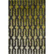 "Loloi Cosma Rug  HCO04 Green / Grey - 3'-9"" X 5'-6"""