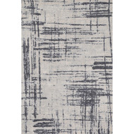 "Loloi Discover Rug  DC-01 Grey / Charcoal - 5'-0"" x 7'-6"""