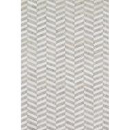 "Loloi Dorado Rug  DB-01 Grey / Ivory - 5'-0"" x 7'-6"""
