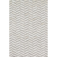 "Loloi Dorado Rug  DB-01 Grey / Ivory - 9'-3"" X 13'"