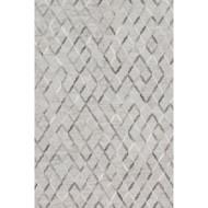 "Loloi Dorado Rug  DB-04 Grey / Grey - 2'-6"" x 8'-0"""