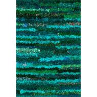 "Loloi Eliza Shag Rug  EI-01 Emerald - 2'-3"" x 3'-9"""
