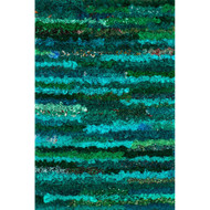 "Loloi Eliza Shag Rug  EI-01 Emerald - 3'-0"" x 5'-0"""