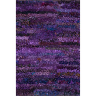 "Loloi Eliza Shag Rug  EI-01 Grape - 3'-0"" x 5'-0"""
