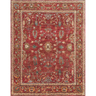 "Loloi Empress Rug  EU-05 Red / Red - 12'-0"" x 15'-0"""