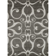 "Loloi Enchant Rug  EN-07 Smoke - 5'-3"" X 7'-7"""