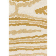 "Loloi Enchant Rug  EN-19 Ivory / Gold - 7'-7"" X 7'-7"" Square"