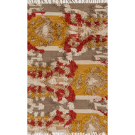 "Loloi Fable Rug  FD-02 Camel / Sunset - 3'-6"" x 5'-6"""