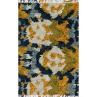 "Loloi Fable Rug  FD-04 Marine / Gold - 3'-6"" x 5'-6"""