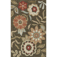 "Loloi Francesca Rug  FC-02 Brown - 2'-3"" x 3'-9"""
