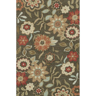 "Loloi Francesca Rug  FC-02 Brown - 3'-6"" x 5'-6"""
