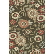 "Loloi Francesca Rug  FC-02 Brown - 5'-0"" x 7'-6"""