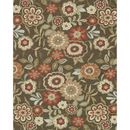 "Loloi Francesca Rug  FC-02 Brown - 7'-6"" x 9'-6"""