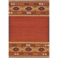"Loloi Isara Rug  IA-01 Red / Gold - 5'-0"" x 7'-6"""