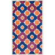 "Loloi Isabelle Rug  HIS02 Pink / Multi - 3'-0"" x 3'-0"" Round"