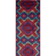 "Loloi Isabelle Rug  HIS03 Red / Teal - 2'-2"" X 5'"